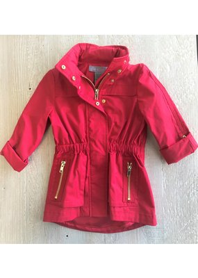 Ciao Milano Red Rain Coat