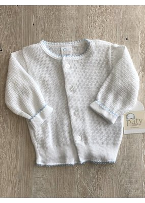Paty Paty Blue/White Sweater