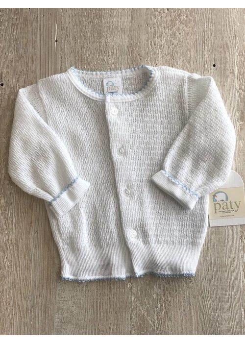 Paty Paty Blue/White Sweater