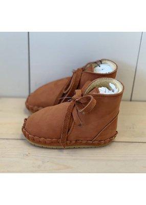Donsje Donsje Walnut Nubuck Pina Lining Shoe