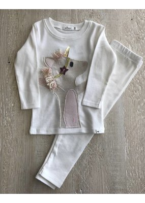 Oh Baby Oh Baby Unicorn 2 Piece Set