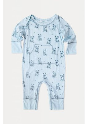 Feather Baby Feather Baby Fox Print Faux Kangaroo