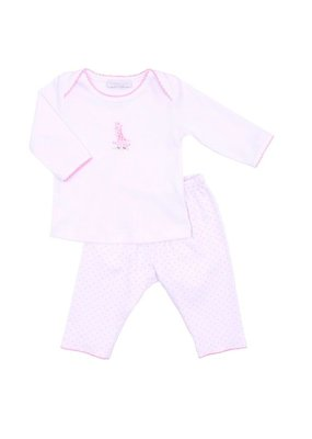 Magnolia Baby Magnolia Baby Pink Giraffe Set