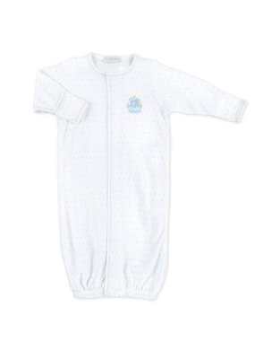 Magnolia Baby Magnolia Baby Blue Embroidered Noahs Friends