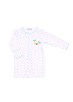 Magnolia Baby Magnolia Baby Jurassic Embroidered Converter Gown