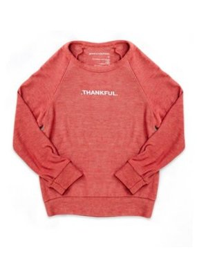 Good Hyouman Good hYOUman Thankful Scarlet Sweatshirt