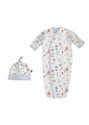 Magnetic Baby Magnetic Me Little Voyager Sack Gown Set