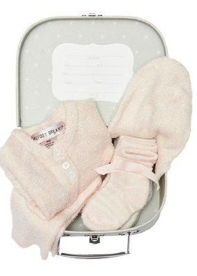Barefoot Dreams Barefoot Dreams Heirloom Baby Set Pink