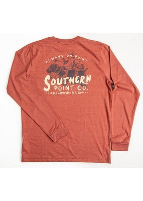 Southern Point Southern Point LS Tee Orange