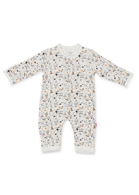 Magnetic Baby Magnetic Baby White/Black Cirque Bebe Modal Coverall
