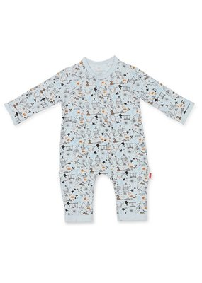 Magnetic Baby Magnetic Baby Blue Cirque Bebe Modal Coverall