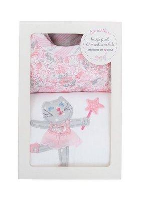 3 Marthas Ballet Kitty Burp/Bib Box
