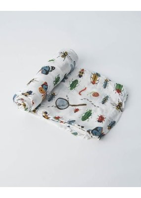 Little Unicorn Little Unicorn Deluxe Swaddle Bugs