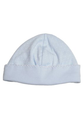 Kissy Kissy Kissy Kissy New Blue Dots Print Hat