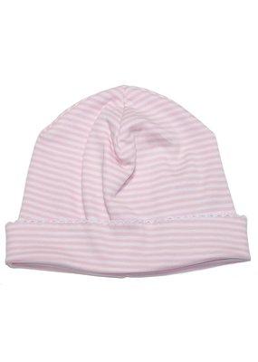 Kissy Kissy Kissy Kissy Pink Stripe Hat