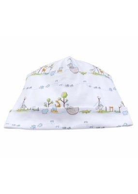 Kissy Kissy Kissy Kissy Blue Noah's Print Hat