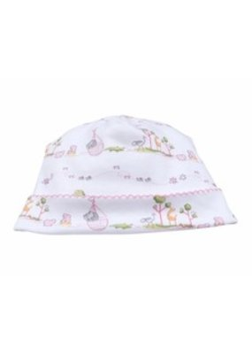 Kissy Kissy Kissy Kissy Pink Noah's Print Hat