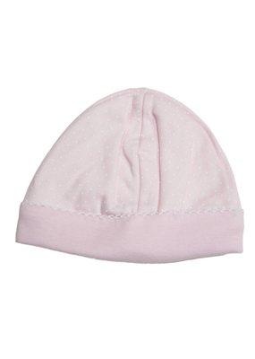 Kissy Kissy Kissy Kissy New Dot Pink Hat