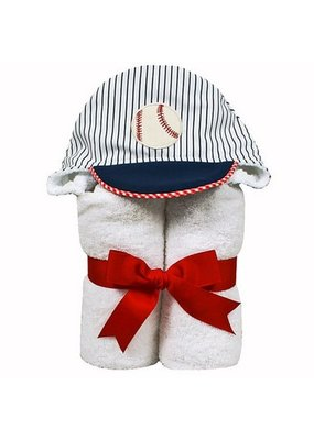 3 Marthas 3 Marthas Baseball Hooded Towel
