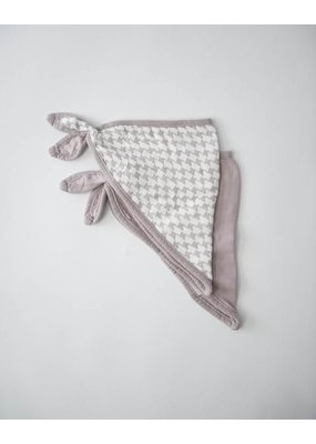 Little Unicorn Little Unicorn Houndstooth Deluxe Muslin Bandana Bib
