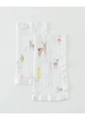 Little Unicorn Little Unicorn Deer Muslin Security Blanket