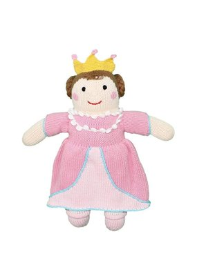 "Zubel Zubel 7"" Brown Princess Rattle"