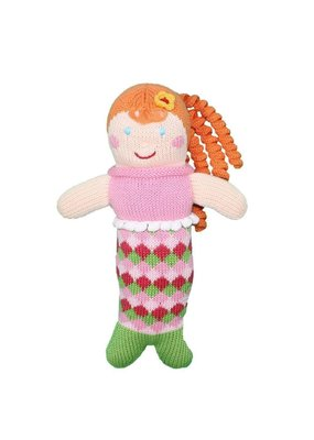 "Zubel Zubel 7"" Mermaid Rattle"