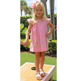 Christian Elizabeth & Co Flagler Flamingo Dress