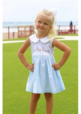 402f9b9a634 Flagler Flamingo Sunsuit.  78.00. Christian Elizabeth   Co Bethesda Bunny  Dress