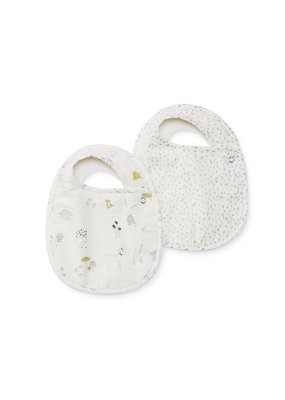 Pehr Pehr Magical Forest & Multi Speck Bibs Set of 2