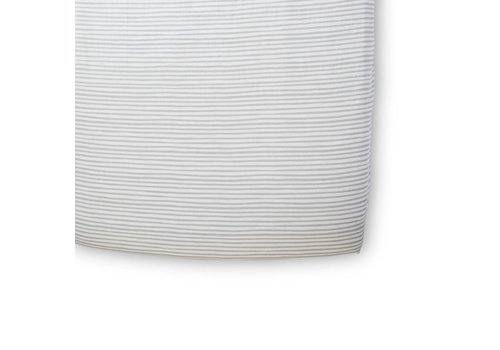 Pehr Pehr Stripes Away Pebble Crib Sheet