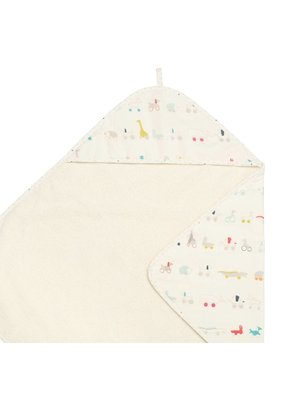 Pehr Pehr Pull Toys Hooded Towel