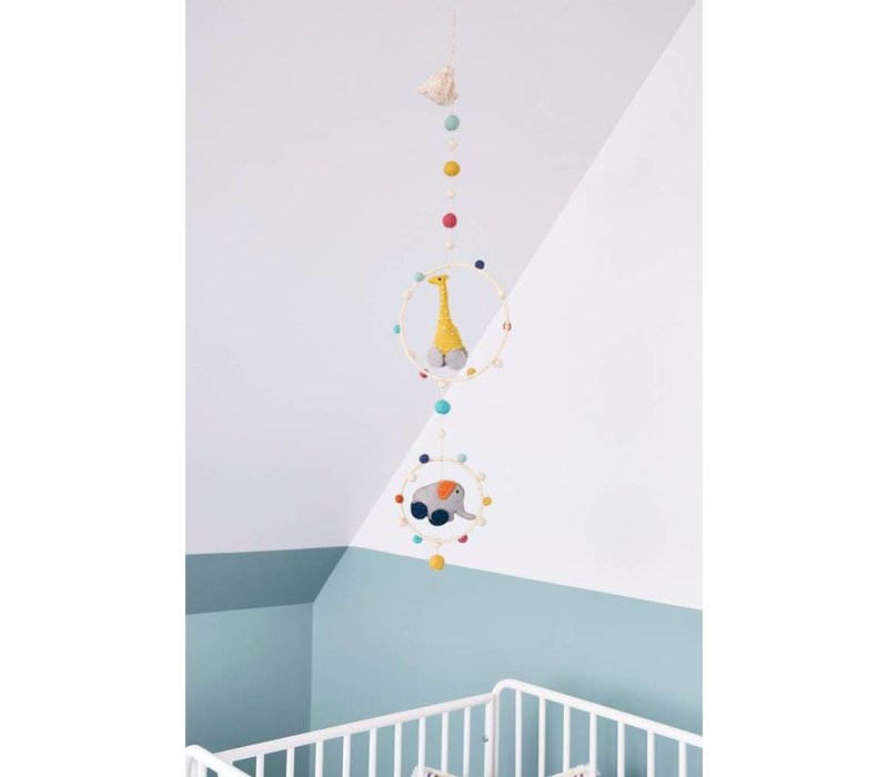 Pehr Pull Toys Mobile