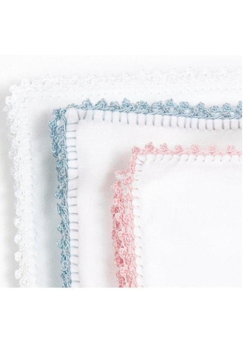 Pixie Lily Pixie Lily White  Jersey Blanket