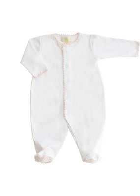 Pixie Lily Pixie Lily Pink Footie Romper