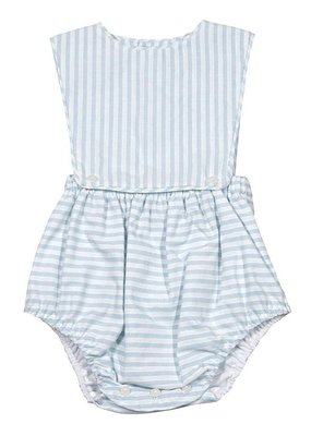 Sophie & Lucas Blue Stripe Overall