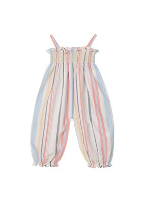 Velveteen Citrine Multi Stripe Jumpsuit