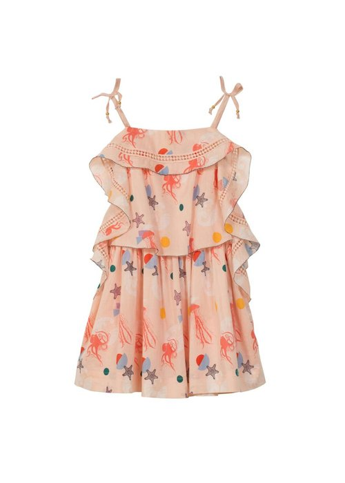 Velveteen Lois Sea Creatures Frill Dress