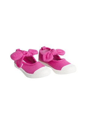 Chus Shoes Chus Fucsia Athena Canvas Shoe