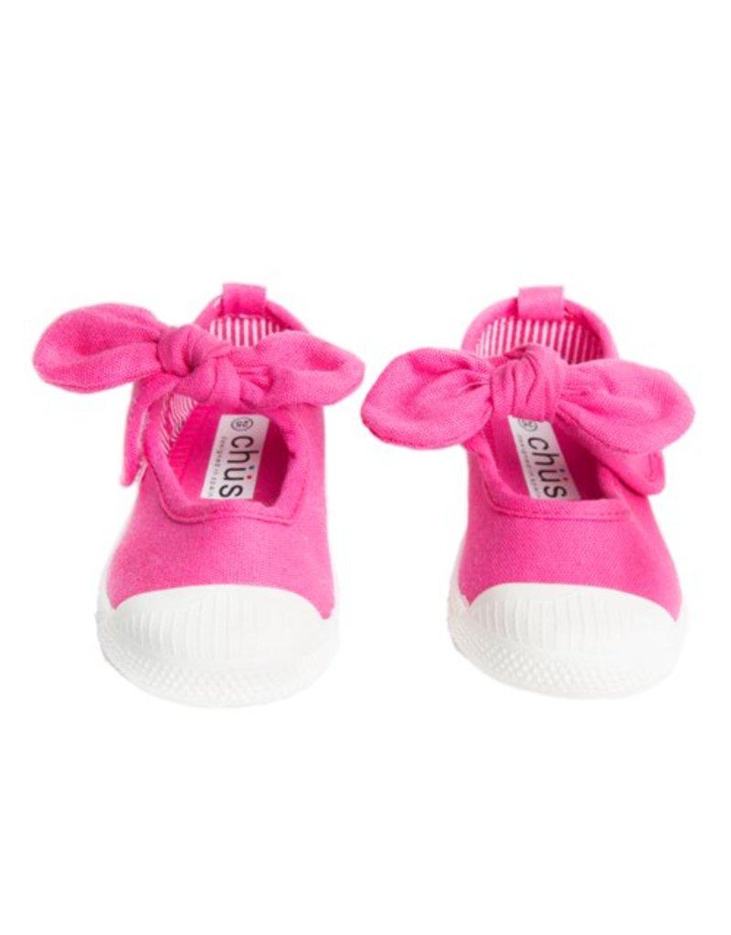 Chus Shoes Chus Fucsia Athena Canvas Shoe