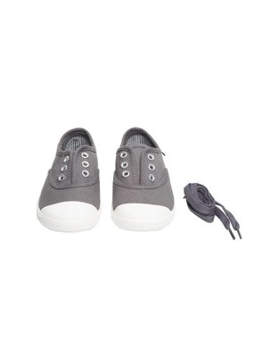 Chus Shoes Chus Grey Dylan Canvas Shoe