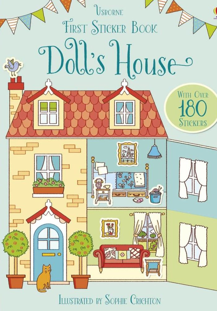 First Sticker Book Dollhouse