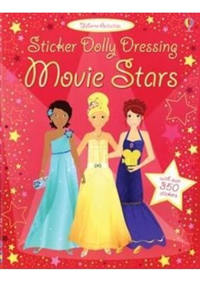 Usborne Sticker Dolly Dressing Movie Stars