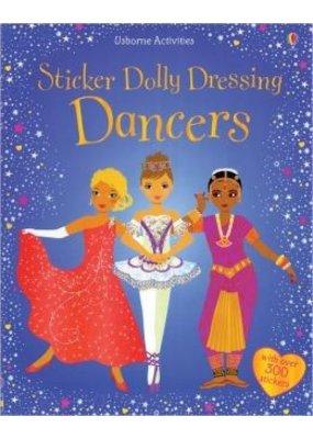 Usborne Sticker Dolly Dressing Dancers