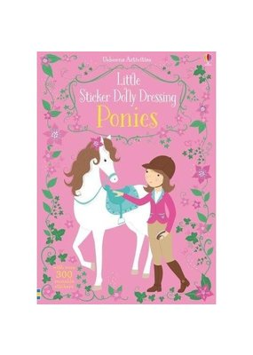 Usborne US Little Sticker Dolly Dressing Ponies