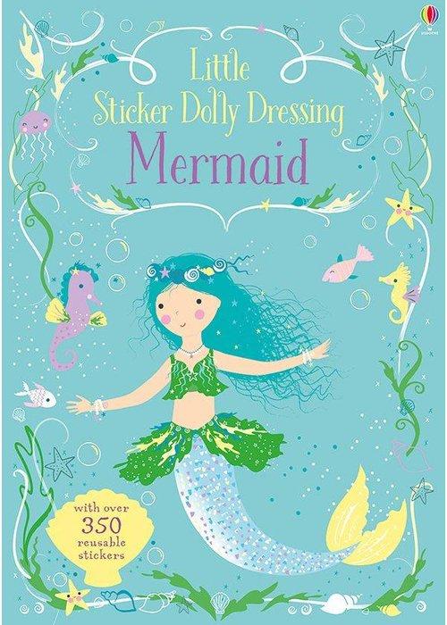 Usborne Little Sticker Dolly Dressing Mermaids