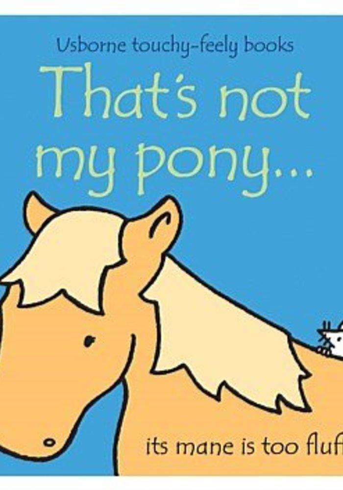 Not My Pony