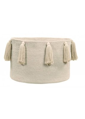 Lorena Canals Tassels Natural Basket