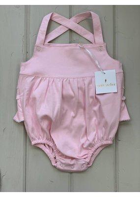 Petit Atelier Pima Pink Ruffle Bubble