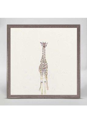 Greenbox Greenbox Giraffe Art 7x7